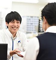 「治す」を基本コンセプトに、病気の予防も含めた「初期治療」から調剤部門による「最終的治療」まで幅広い「治す」ニーズに対応します。